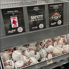 Baseball Bulk-Bin Category Management Retail Fixtures, Store Fixtures, Bin Store, Baseball Wall, Retail Merchandising, Babe Ruth, Wall Plaques, Management, Walmart