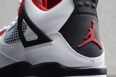 """Nuevas Air Jordan 4 """"Rojo Fuego"""""""