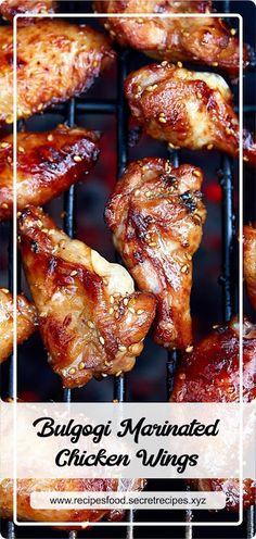Moist Pumpkin Bread (One Bowl) - Orion Chicken Wing Marinade, Marinated Chicken Wings, Marinated Chicken Recipes, Grilled Chicken Wings, Oven Chicken, Chicken Marinades, Chicken Wing Recipes, Bulgogi Marinade, Bulgogi Sauce