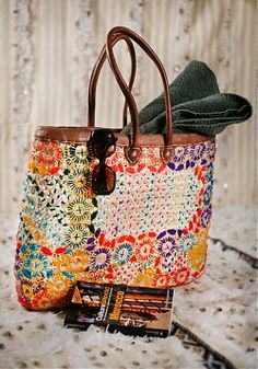 Bag from Morocco Marrakech, Hippie Chic, Boho Chic, Bohemian, Market Baskets, Moroccan Style, Textiles, Decorating Blogs, Love Fashion