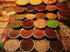 A market in Jodhpur, Rajasthan. Love the color. #food #JetsetterCurator