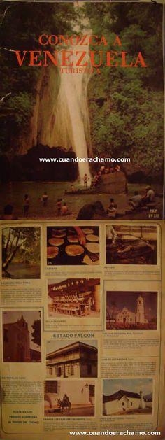 Venezuela Turística | Album de barajitas Venezuela Turística - Cuando era Chamo - Recuerdos de Venezuela