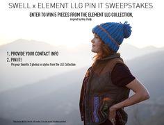 DEADLINE Oct 21: SWELL x Element LLG Pin It