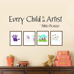 Every Child is an Artist - Vinyl Wall Decal  www.isigns.ca