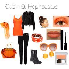 Cabin 9: Hephaestus | Zabolicious | Percy Jackson and the Olympians | Mythology | Fashion