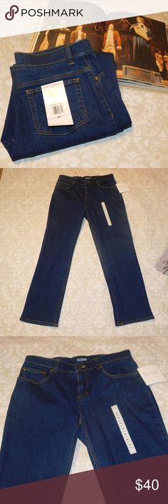 NWT Jones New York Classic Petite Jeans New Jones New York Petite Jeans in size 6P.  Measurements:  Waist: 15 inches Rise: 9.5 inches Inseam: 29 inches Jones New York Jeans
