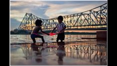 Lets Catch Fish - Howrah Bridge, Kolkata, India Photography Lessons, People Photography, Image Photography, Life Photography, Victoria Memorial, Best Poems, Amazing India, Street Photographers, Best Cities