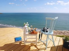 The Edge luxury self-catering beach hut Whitsand Bay East Cornwall, Luxury beach hut self-catering Whitsand Bay, East Cornwall