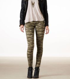 Shop at American Eagle for Jeans for Women that look as good as they feel. Browse high-waisted, skinny, cropped & jegging fits in different denim washes and stretch levels to find your new favorite. Camo Outfits, Fashion Outfits, Jeggings Outfit, Leggings, Camo Swimsuit, Swimsuits For Teens, Matching Couple Shirts, Country Girls Outfits, Dress Slacks