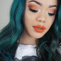 LIPS: @ofracosmetics Miami fever . Use code KATHLEEN30 for 30% off! https://www.ofracosmetics.com/collections/lips/products/long-lasting-liquid-lipstick?variant=9396569155