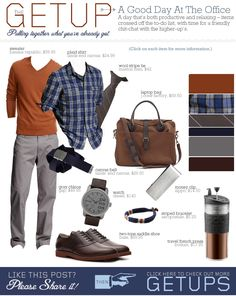 The Getup: A Good Day At The Office | Primer (love this colour palette)