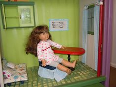 """How to make chairs for 18"""" doll"""