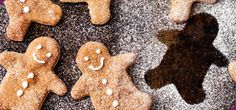 Biscuits from childhood often bring back fond memories - adding to their status as comfort food! Here's a low Syn version of gingerbread biscuits; it's up to you whether to make them into gingerbread men! (Raisins for eyes optional of course! Slimming World Sweets, Slimming World Puddings, Slimming World Recipes, Gingerbread Biscuit Recipe, Christmas Gingerbread Men, Speed Foods, Ww Recipes, Recipies, Health Eating