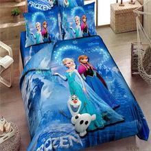 Promotion Brand Frozen Bedding Sets Elsa Anna Bedclothes Quilt Cover Bed line set Twin/Full/Queen/King Kids Bedding Bed Sheets  From plonlineventures.com At Your Aliexpress link