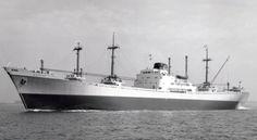 LIEVE VROUWEKERK  Bouwjaar 1944, grt 7254  N.V. Vereenigde Nederlandsche Scheepvaartmaatschappij, 's-Gravenhage  Gebouwd Delta Shipbuilding ...