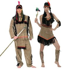 Pareja Disfraces de Indios #parejas #disfraces #carnaval