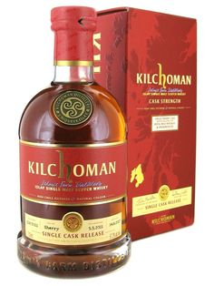 That's a great word to express how we feel about this exclusive single cask of Kilchoman. It has been matured in a sole sherry butt before be. Cigars, Whisky, Whiskey Bottle, Drinks, Whiskey, Beverages, Drink, Beverage, Cigar