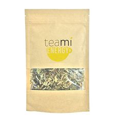 HERBAL YERBA MATE & Oolong Premium Loose Leaf Tea Blend by TeaMi Blends - Best for Increased Energy & Boosting Mental Alertness - with 100% All-Natural Lemongrass, Ginseng, Goji Berries, and More!