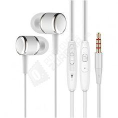 Sluchátka do uší v bílé a černé barvě