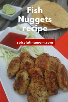 awesome Homemade Fish Nuggets, Easy and Healthy