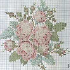 pale roses bouquet