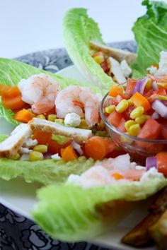 Lettuce wraps ...the next thing to try for lunch!