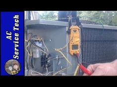 4 Wire And 3 Wire Condenser Fan Motor Wiring How To Eliminate 2 Run Capacitors Youtube Fan Motor Capacitors Hvac Tech
