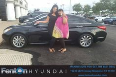 https://flic.kr/p/Uuvh2C | Happy Anniversary to Robin on your #Hyundai #Sonata from Kim Carter at Fenton Hyundai! | deliverymaxx.com/DealerReviews.aspx?DealerCode=H248