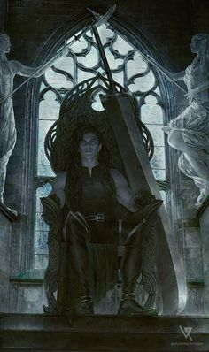 Mercy the Fallen by Vrihedd on DeviantArt Dark Fantasy Art, Fantasy Male, Fantasy Artwork, Fantasy Inspiration, Character Inspiration, Character Art, Character Design, Elf Characters, Fantasy Characters