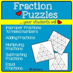 This product supports the development of higher order thinking skills and collaborative learning. It meets common core standards for mathematics and I use it every time I teach fractions. It proved itself many times over as a resource that engage students. Adding Fractions, Multiplying Fractions, Teaching Fractions, Math Activities, Teacher Resources, 12th Maths, Higher Order Thinking, Thing 1, Cooperative Learning