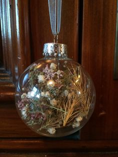 Dried Yarrow Baby's Breath and Wild Grasses by TheFancyMoose