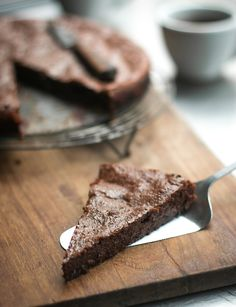 A French take on brownies; Rich, smooth, and packed with chocolate flavor!