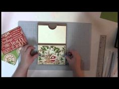 "This Video Tutorial includes the material list, all measurements and directions on how to make this Accordion Mini Album which holds 4 x 6"" photos. This is a..."