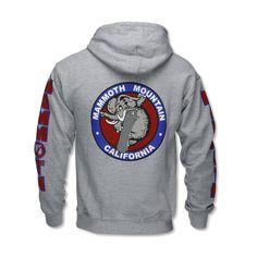 Adult Snowboard Woolly Hoodie Sweatshirt