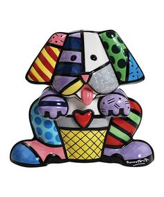 Take a look at this Patchwork Dog Cookie Jar by Westland Giftware on #zulily today!