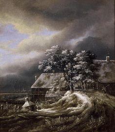 Jacob van Ruisdael - Winterlandschap