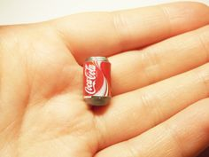 1 pc coca cola coke soda beverage can miniature by rabbitssupplies on Etsy