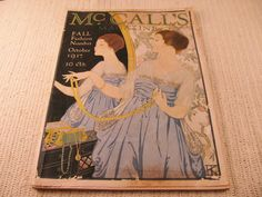 1917 McCall's magazine with cover by ARTCPACKRAT on Etsy