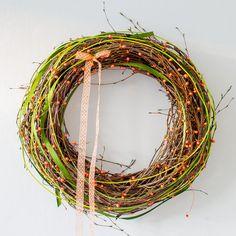věnec - jaro klepe na dveře II Grapevine Wreath, Grape Vines, Wreaths, Spring, Inspiration, Decor, Biblical Inspiration, Decoration, Door Wreaths