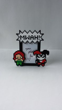 Picture Frame - Poison Ivy and Harley Quinn Couples Frame