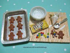 Miniature Gingerbread Men Prep Board by ilovelittlethings on DeviantArt