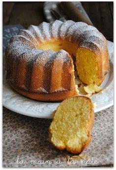 gâteau italien au citron et à la crème fraiche