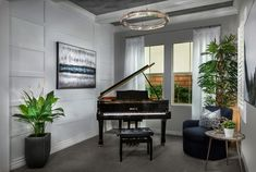 Grand piano… Grand home… Grand EVERYTHING! Come see how we decorated our luxurious homes at Sierra Bella in Corona! And let us know how you feel about the décor below! Luxurious Homes, Luxury Homes, New Community, Grand Homes, Grand Piano, Picnic Area, New City, New Homes For Sale, Corona