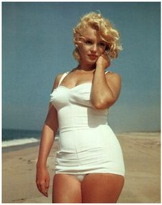 Embrace your curves. Say goodbye to Norma Jean and HELLO MARILYN!!
