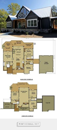 Rustic house plans are what we know best. If you are looking for rustic house designs with craftsman details you have come to the right place. Rustic House Plans, Garage House Plans, Barn Home Plans, Cottage Home Plans, Farmhouse Home Plans, Country Home Plans, Ranch Home Floor Plans, Cabin House Plans, Cabin Floor Plans