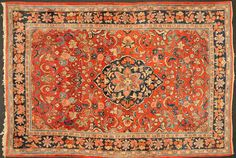 "Mahal rug made in Iran in 211 x 310 cm ' 11 "" x 10 ' 2 ""). Stock № Rug Making, Persian Rug, Oriental Rug, Bohemian Rug, Carpet, Rugs, Iran, Top, House"