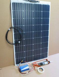 Solar Camper Solutions - VW Stick-on Solar Panel Kit Solar Panel Kits, Solar Energy Panels, Best Solar Panels, Off Grid Solar, Solar Shingles, Solar Roof Tiles, Solar Generator, Solar Projects, Solar Panel Installation