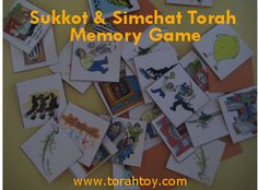 Sukkot and Simchat Torah Memory Game         This is a wonderful memory game that can be played at home during Yom Tov or to use in the cla...