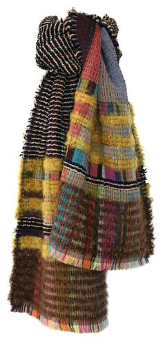 Wool Crepe Amp Chenille Wraps — Scarves — wallace#sewell