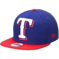 Texas Rangers New Era Logo Grand Redux 9FIFTY Adjustable Hat - Royal Red 62b6ca2f07